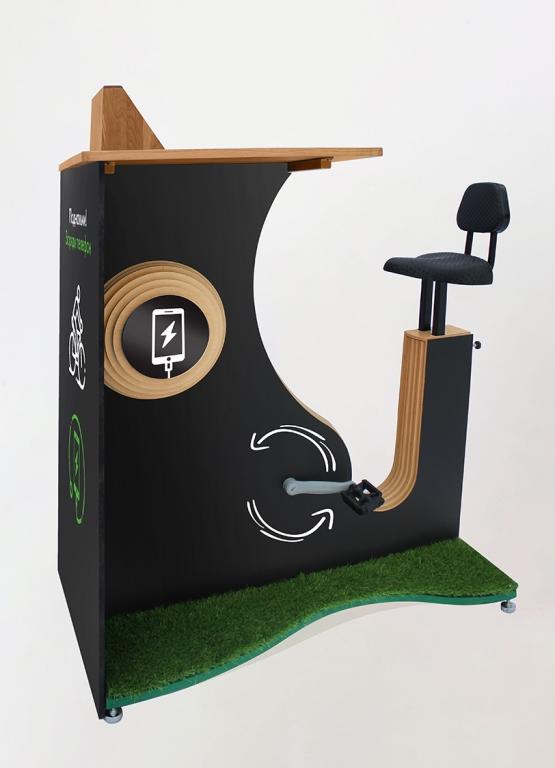 велозарядка для телефонов в аэропорт