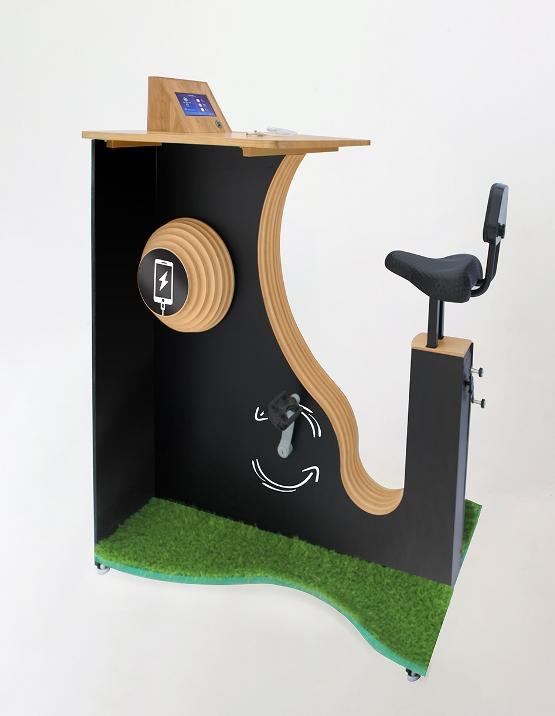 велозарядка для телефонов